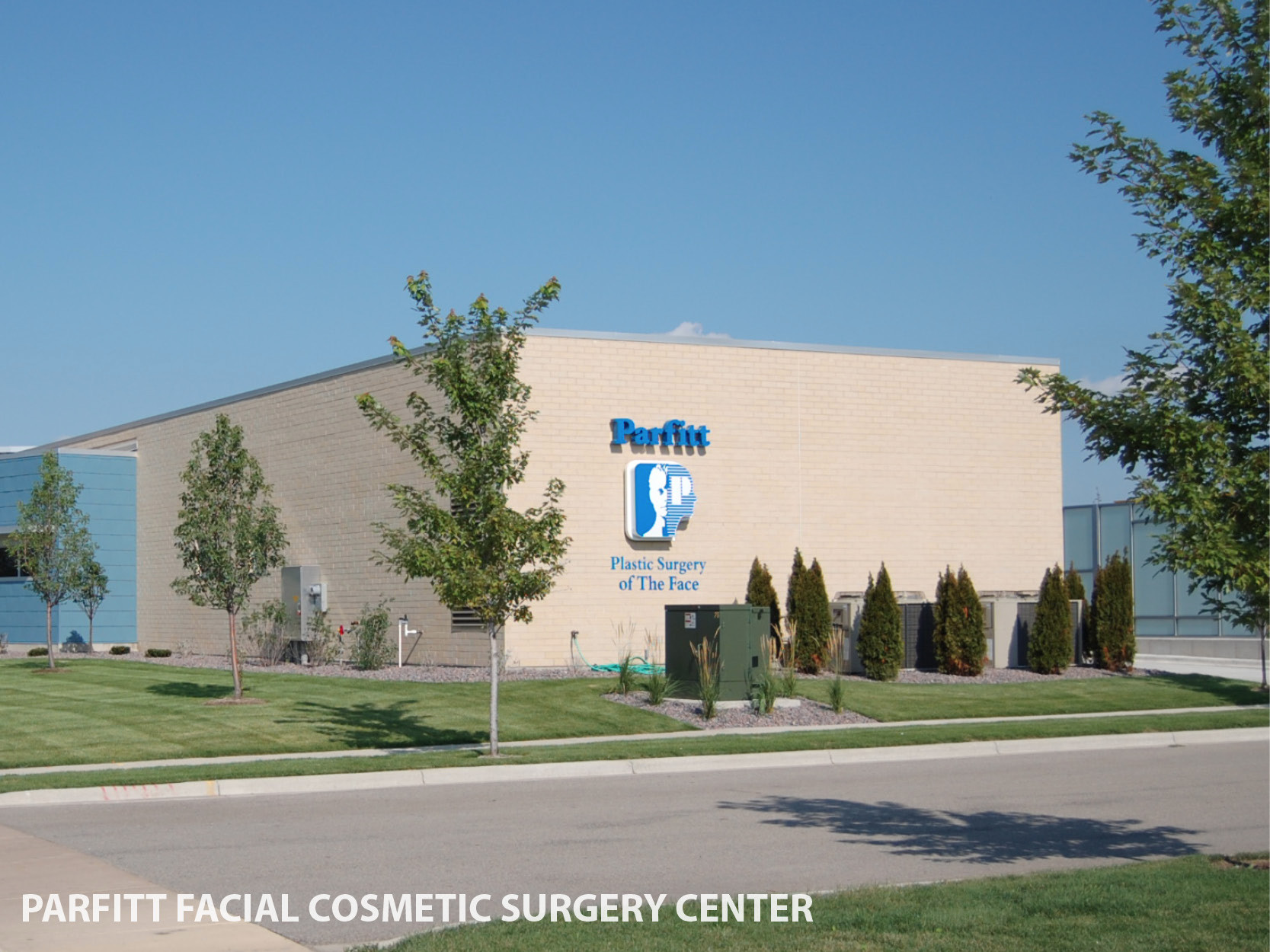 Center for facial cosmetic